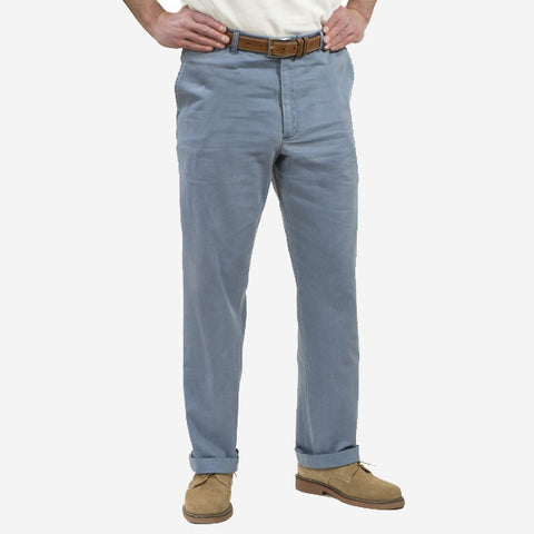 Nantucket Reds Collection™ Men's Plain Front Pants - Blue