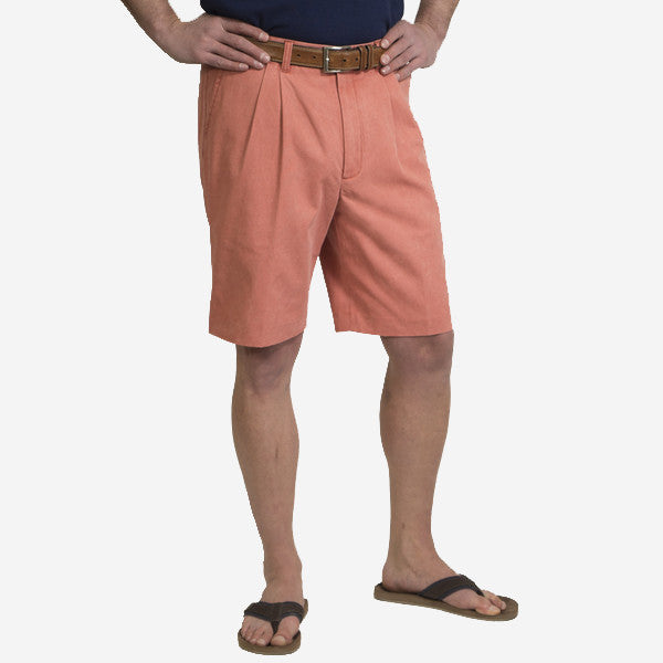 Nantucket Reds Collection™ Men's Pleated Front Bermuda Shorts - Murray's  Toggery Shop
