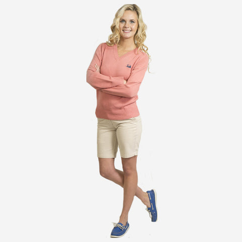 Nantucket Reds Collection™ V-Neck Sweater