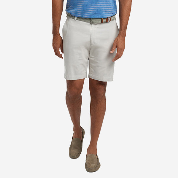 Peter Millar Soft Touch Twill Short Stone