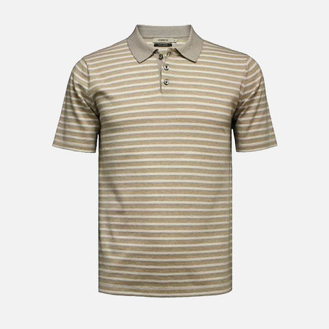 Hommard Oahu Men's Striped Polo Shirt
