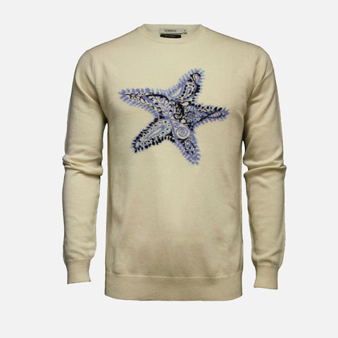 Hommard Starfish Silk Cashmere Sweater