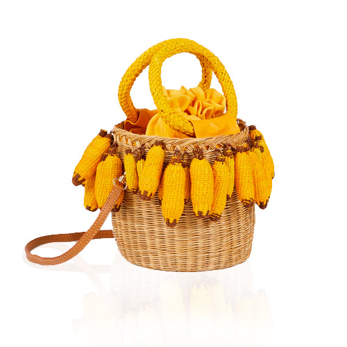 Serpui Lauren Banana Purse