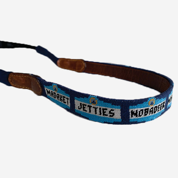 Smathers & Branson Town Signs Needlepoint Sunglass Strap