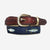 YRI Men's Ribbon Belt - 3 Fish