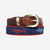 YRI Men's Ribbon Belt - Sharks & Minnows