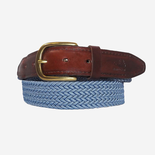 YRI Men's Stretch Elastic Belt - Blue