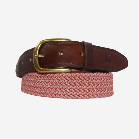 YRI Men's Stretch Elastic Belt - Red