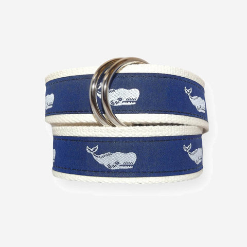 YRI O-Ring Motif Belt - Sperm Whale