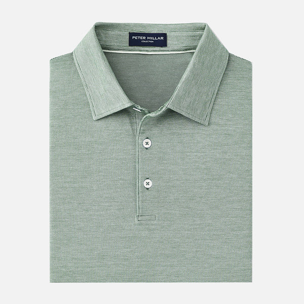 Peter Millar Collection Excursionist Flex Polo Muschio