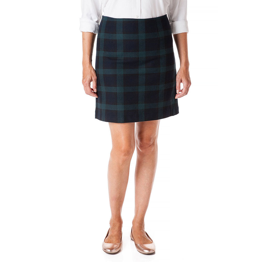 Castaway Ali Twill Skirt Blackwatch Tartan Plaid