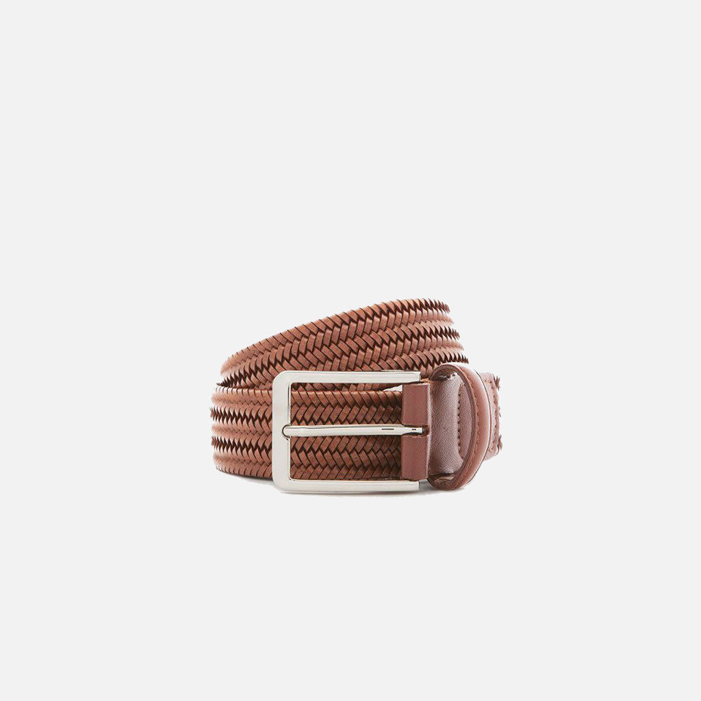 Beltology Litmus Men's Designer Belt - Brown Leather