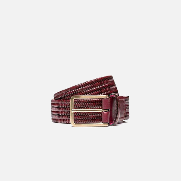 Beltology Litmus Men's Designer Belt - Cordovan Leather