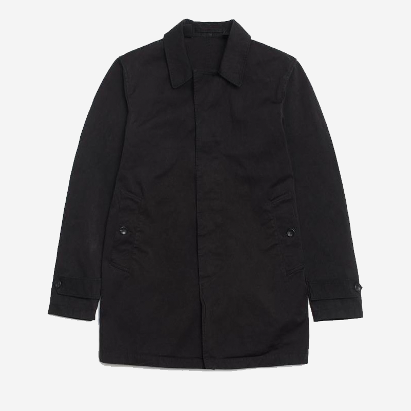 Ten C Car Coat - Black