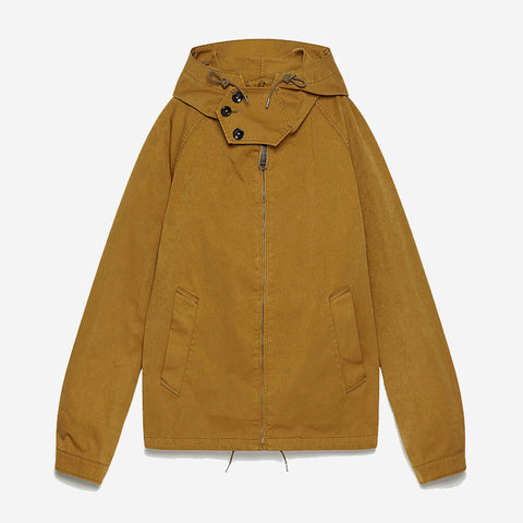 Ten C Anorak - Brown