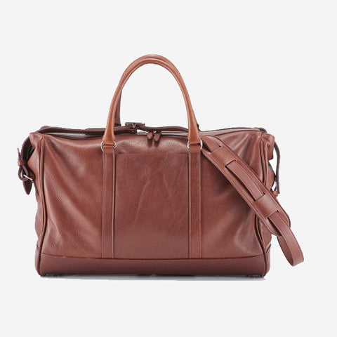 Daines & Hathaway Overnight Bag - Finsbury Caramelo Brown