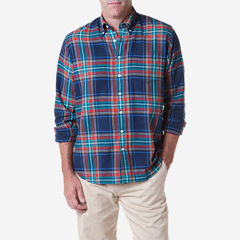 Castaway Chase Shirt - Central Wharf Plaid