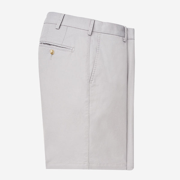 Peter Millar Soft Touch Twill Short Gale Grey