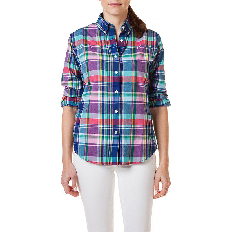 Castaway Ladies Button Down Shirt Philip Madras