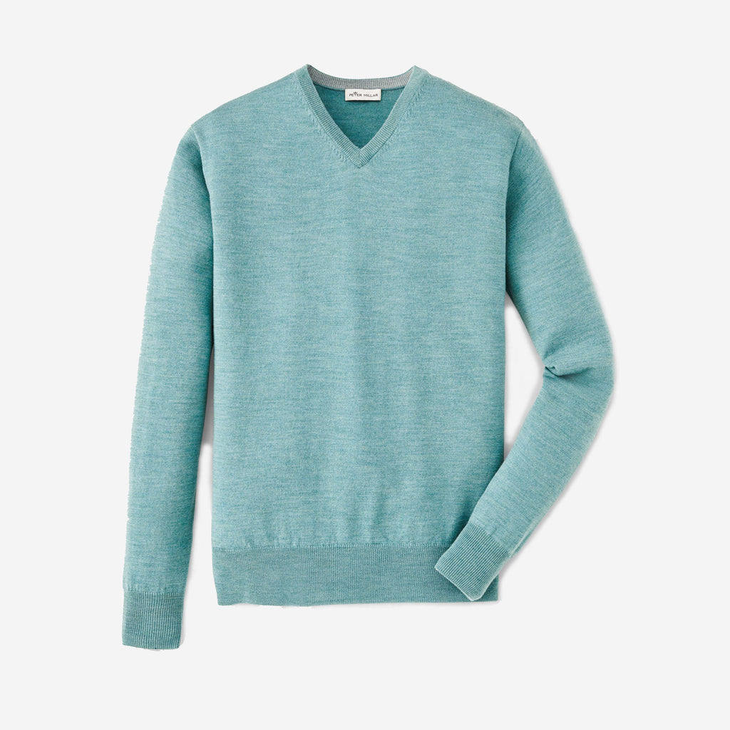 Peter Millar Crown Soft V-Neck Amazonite