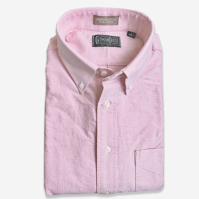 Gitman Bros Button Down Oxford Pink