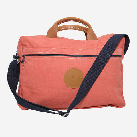Nantucket Reds™ Collection Briefcase with Leather Handles