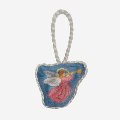 Smathers & Branson Angel Needlepoint Ornament