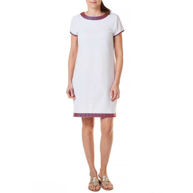 Castaway Skipper Dress White