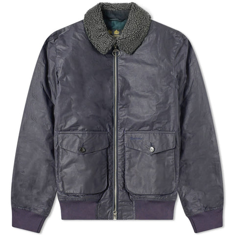 Barbour Goosall Wax Jacket Navy
