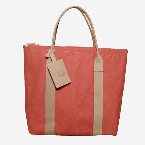 Nantucket Reds™ Collection Tote with Ooze Leather Handles Large