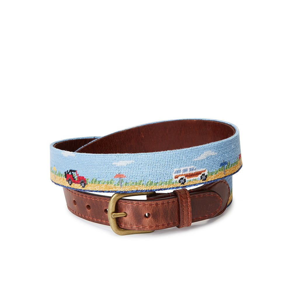 Smathers & Branson Great Point Beach Truck Scene Belt
