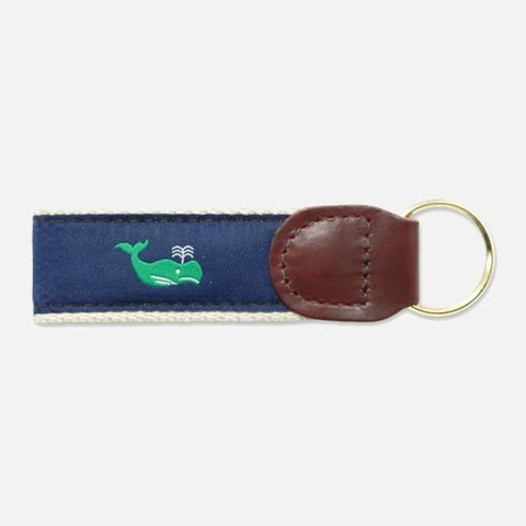 YRI Green Whale Key Fob