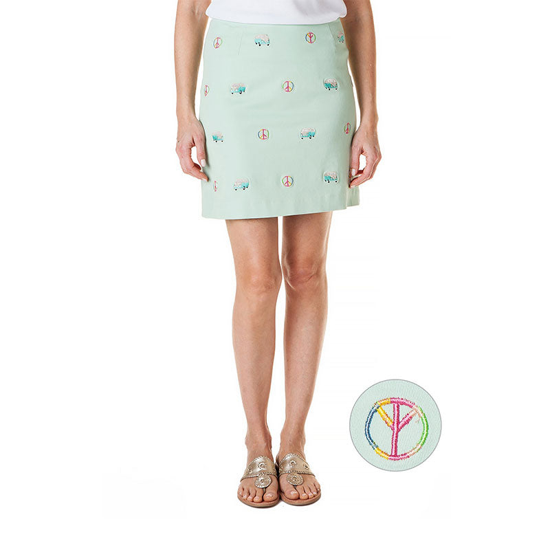 Castaway Ali Skirt Peace Mint