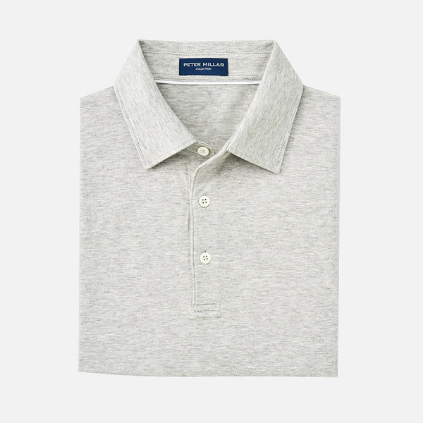 Peter Millar Collection Excursionist Flex Polo Argento
