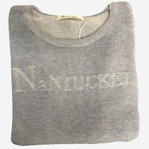 Alashan Cotton & Cashmere Nantucket Sweater - Slate