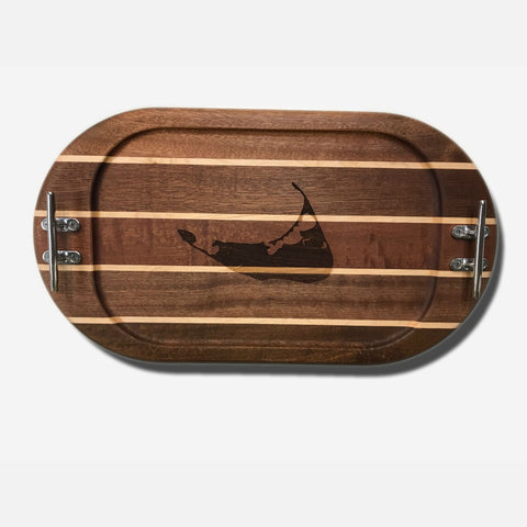 Nautical Boards Small Tray - Nantucket Island