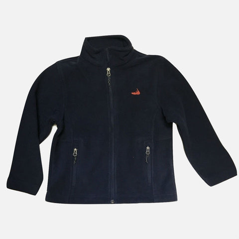 Port Authority Kids Fleece Full Zip Jacket - Navy