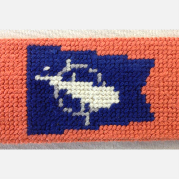 Smathers & Branson Nantucket Burgee Needlepoint Belt