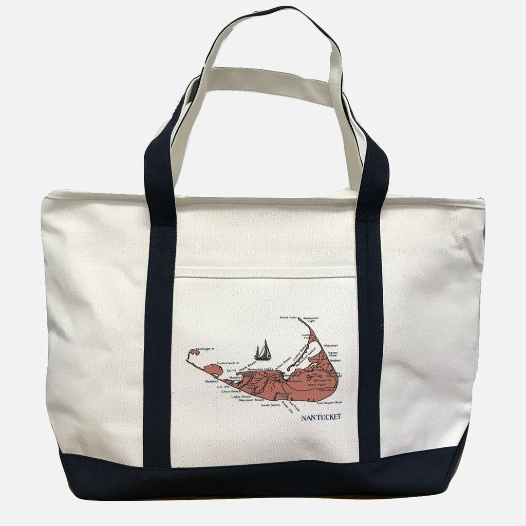 Ox Bow Decor Large Nantucket Tote