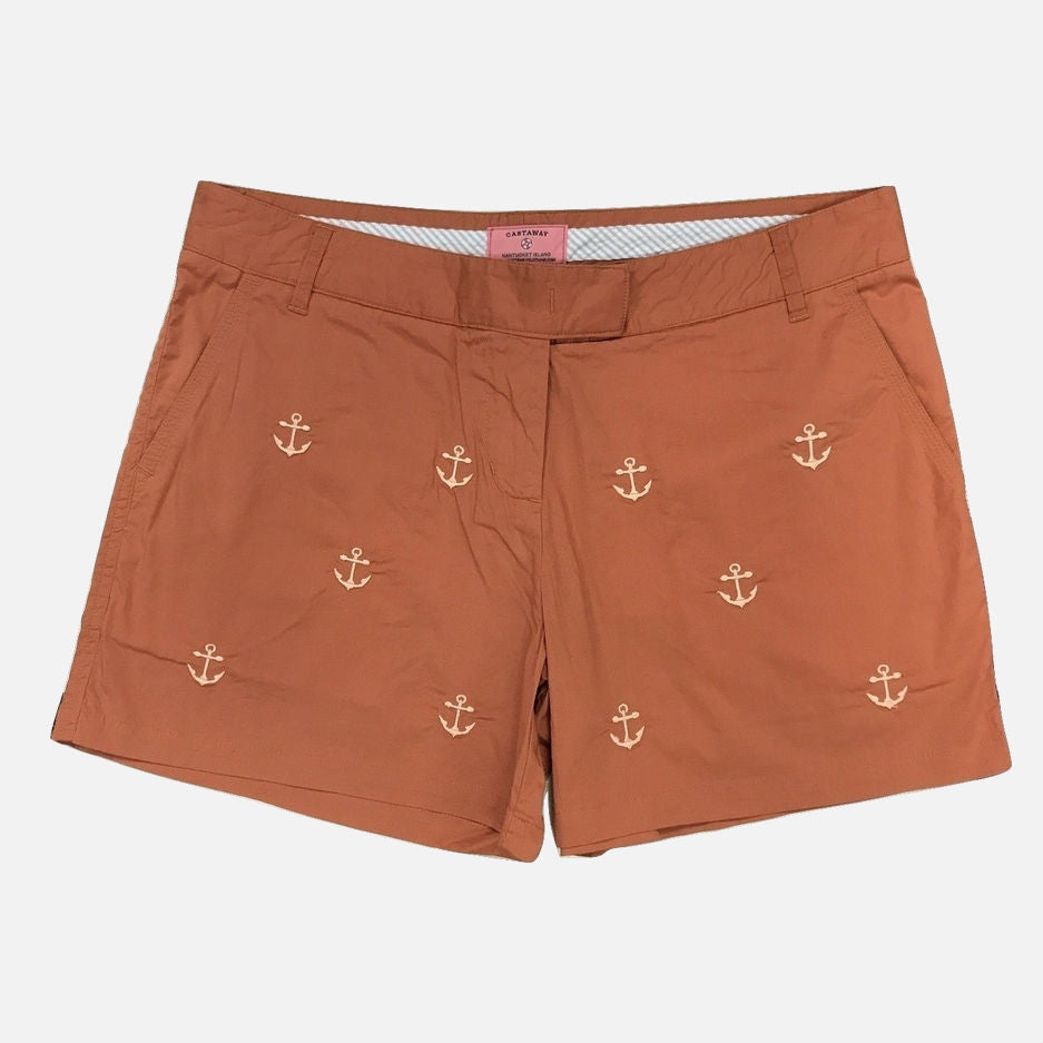 Nantucket Reds Collection™ Ladies Sailing Shorts With Anchors