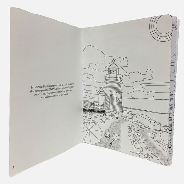 The Nantucket Coloring Book for Grown Ups