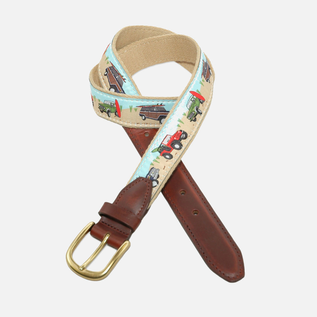 YRI Men's Ribbon Belt - Jeeps & Rovers