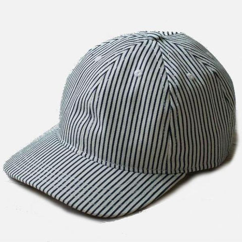 Raleigh Denim Workshop 6-Panel Cap - Hickory Stripe