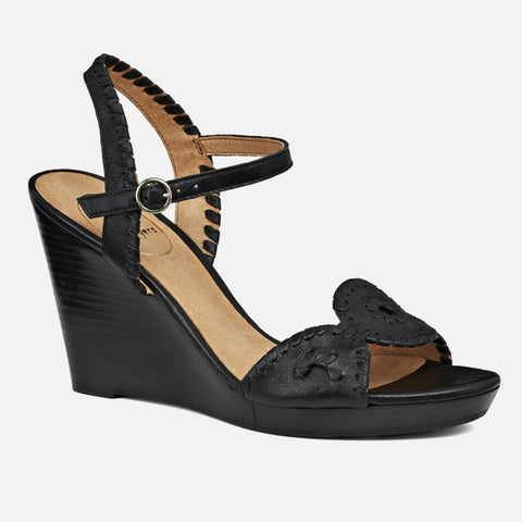 Jack Rogers Clare Wedge - Black