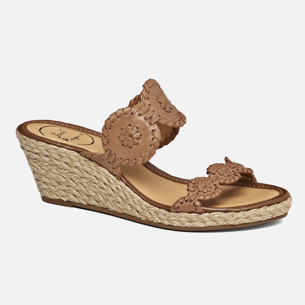 Jack Rogers Shelby Wedge - Cognac