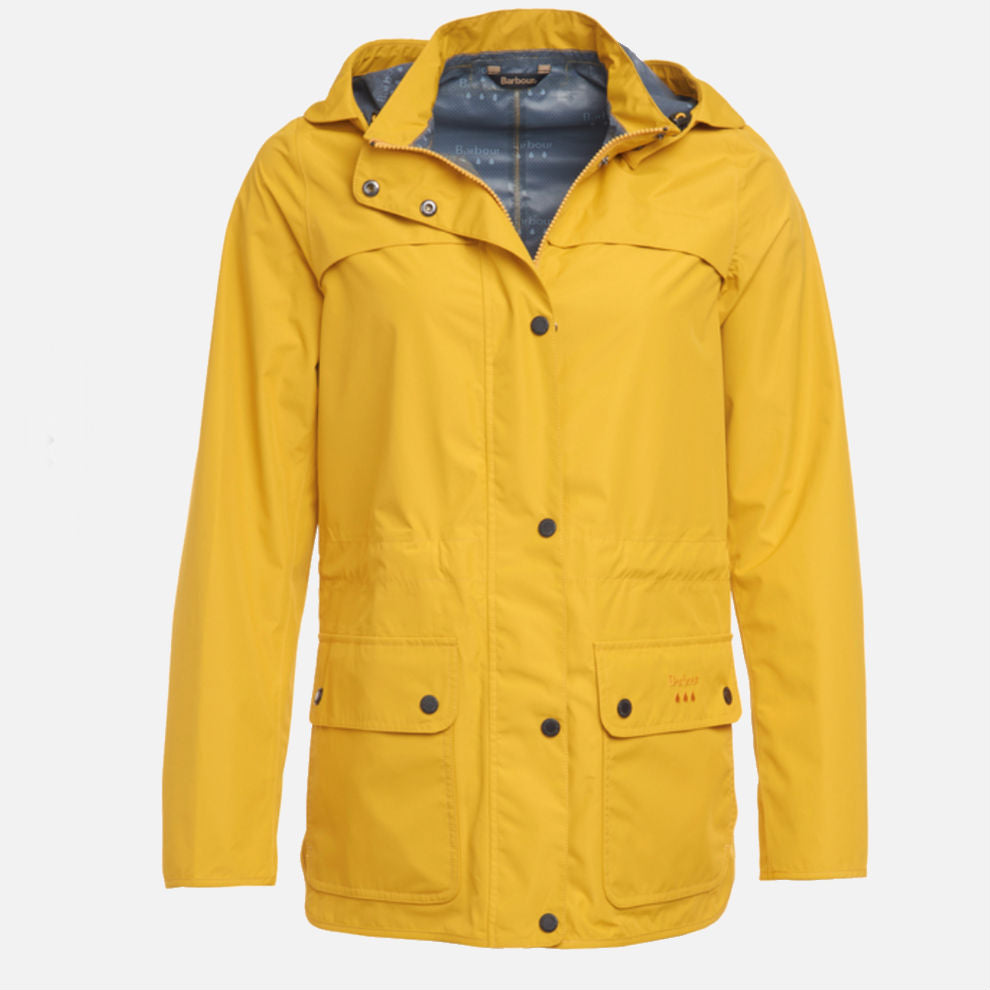 Barbour Barometer Waterproof Breathable Jacket - Yellow
