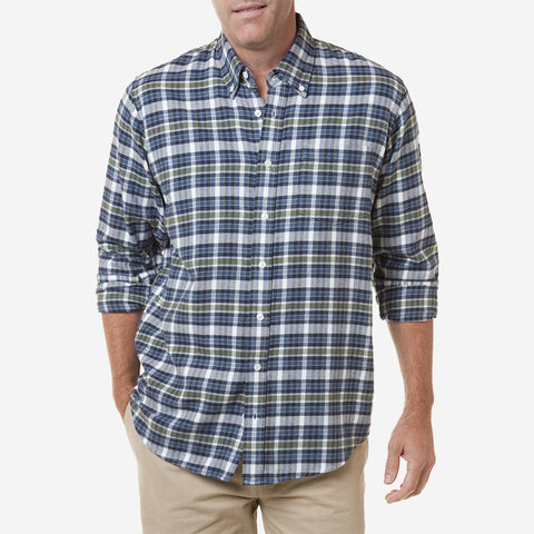 Castaway Chase Shirt - Winter Madras Berkeley
