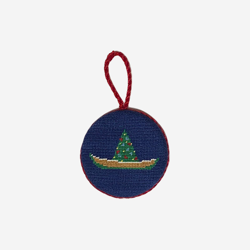 Smathers & Branson Christmas Dory Needlepoint Ornament
