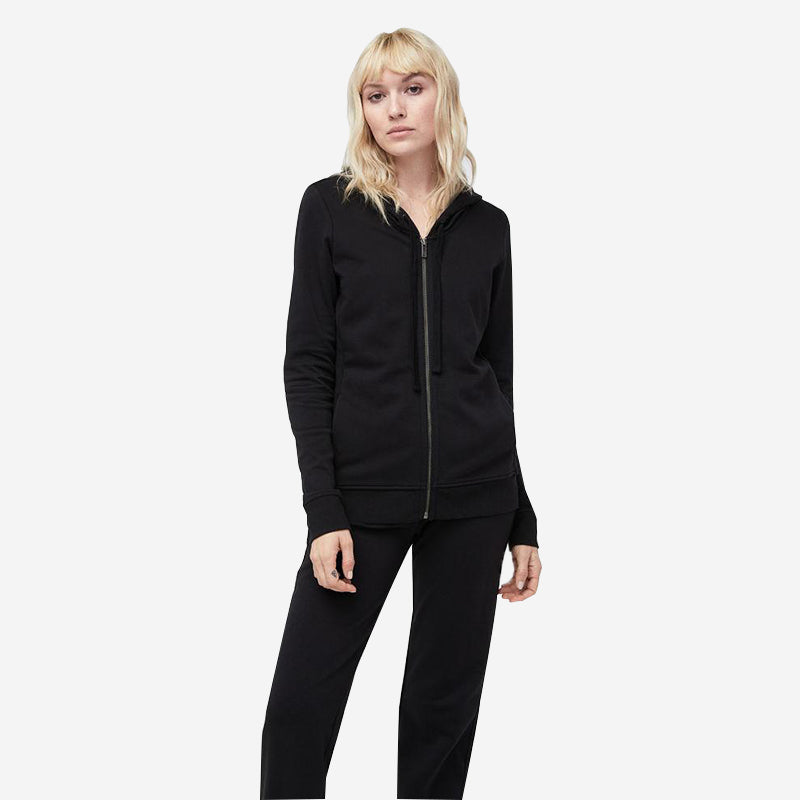 UGG Women s Clara Terry Hoodie - Black – Murray s Toggery Shop 5239f585f6