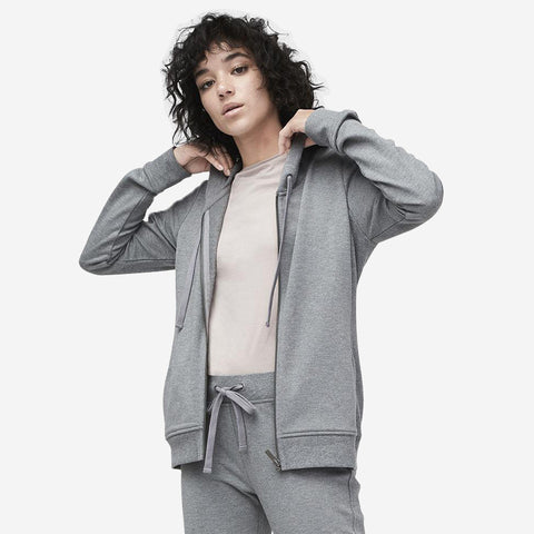 UGG Women's Clara Terry Hoodie -  Grey Heather